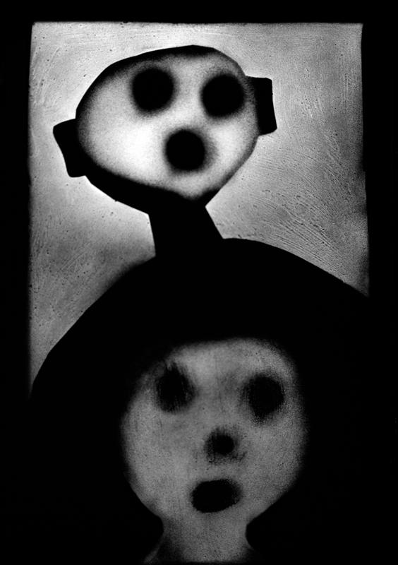 "Roger Ballen, ""The Back of the Mind""(2012)."