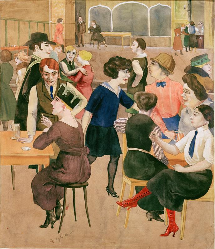 Rudolf Schlichter Damenkneipe (Women's Club), c. 1925 Private collection © Viola Roehr v. Alvensleben, Munich Photo: akg-images