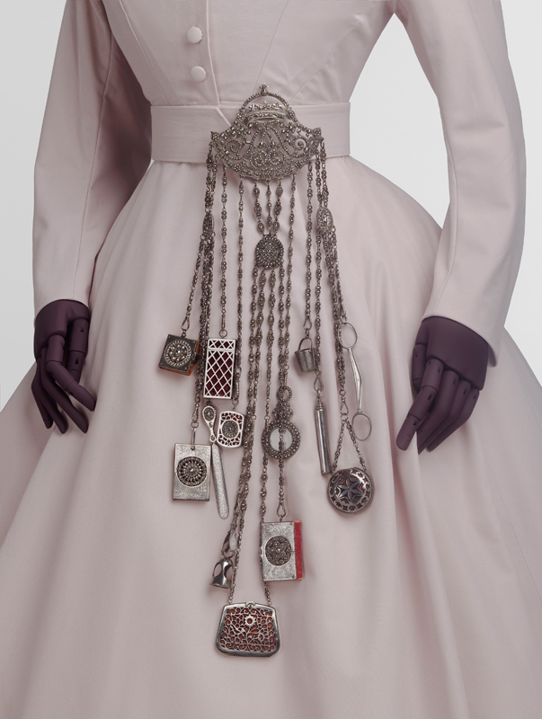 Chatelaine, 1863-85, probably England, cut steel (c) Victoria and Albert Museum, London