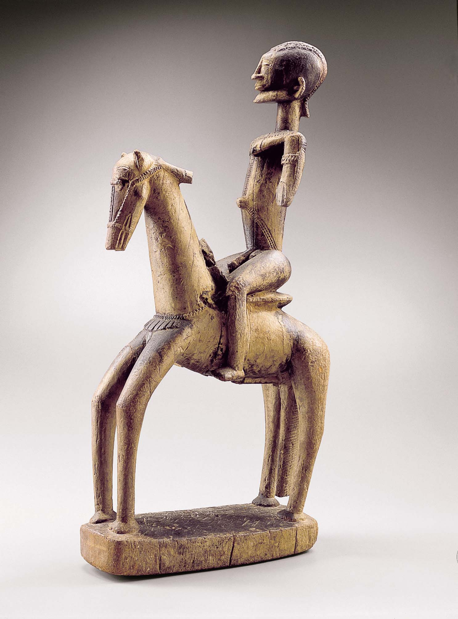 Equestrian, Dogon peoples, Mali 16th–18th century, Photo credit: © Archives Fondation Dapper—Photo Hughes Dubois