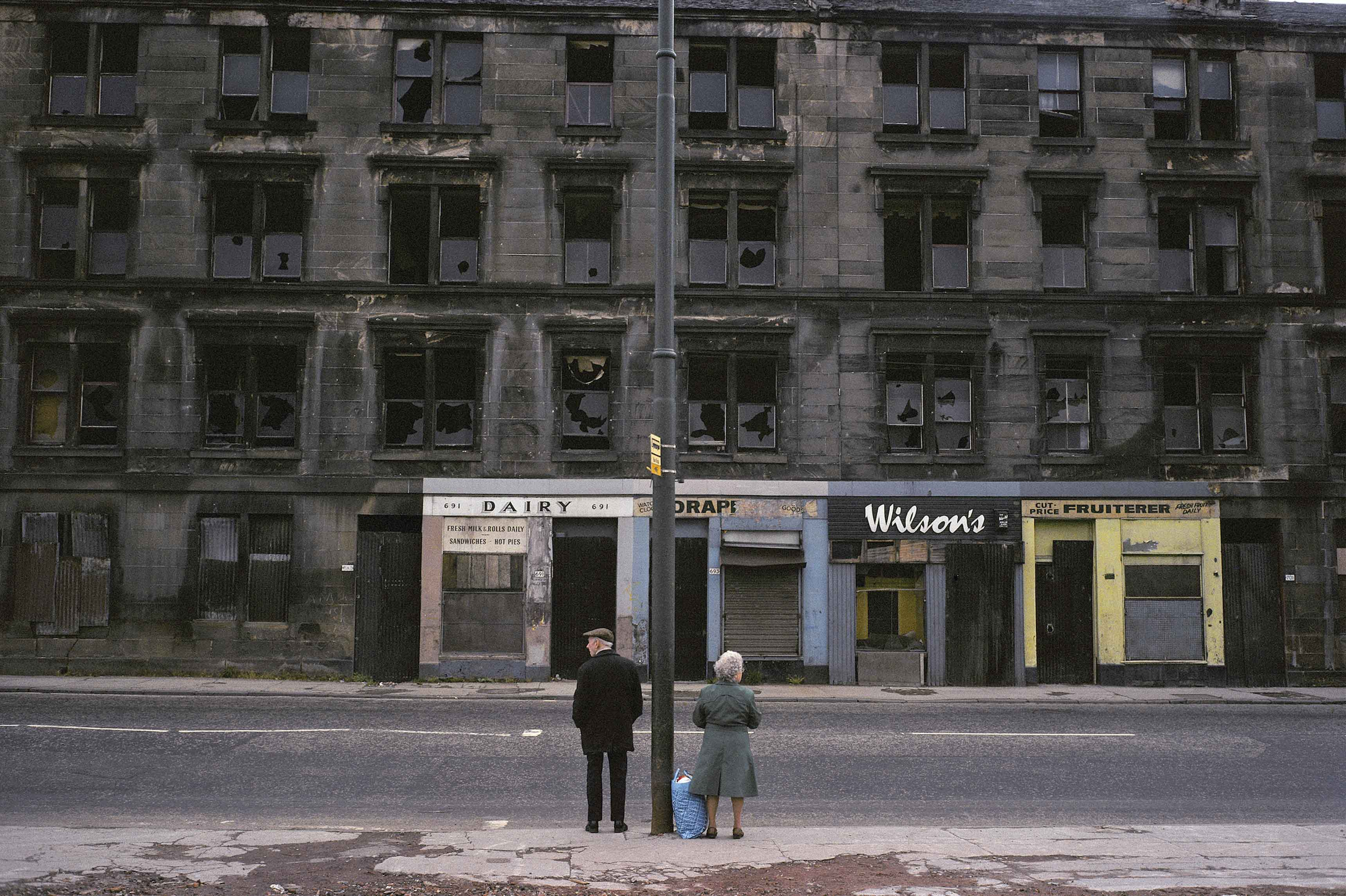 Glasgow, Écosse, 1980 © Raymond Depardon / Magnum Photos