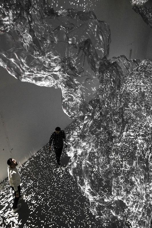 Adrien M & Claire B, L'ombre de la vapeur, Courtesy Fondation d'entreprise Martell, 2018 - Faire corps, La Gaîté Lyrique - Photo : Voyez-Vous (Vinciane Lebrun)