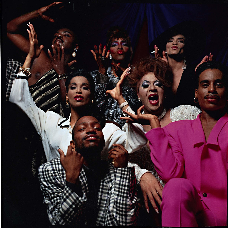 Poster shoot group photo, 1991 Courtesy of Janus Films
