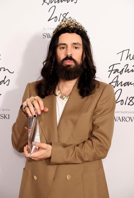 Alessandro Michele, directeur artistique de Gucci : Brand of the Year