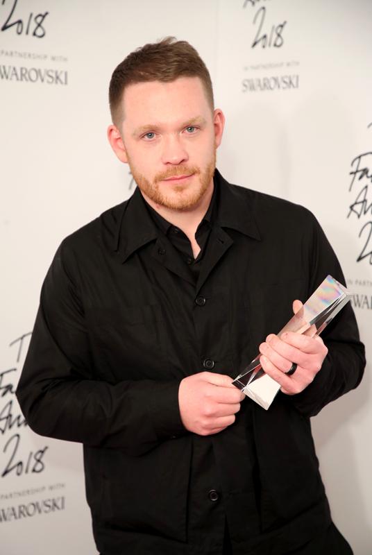 Craig Green, directeur artistique de Craig Green : British Designer of the Year Menswear