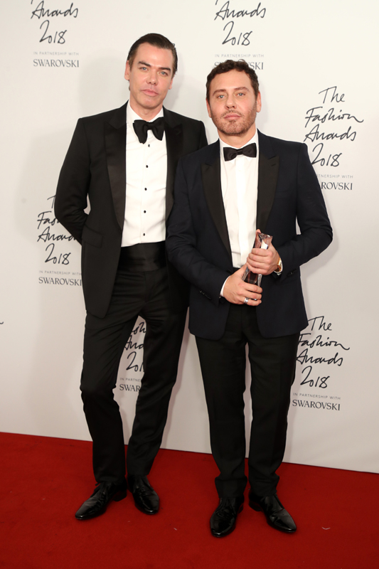 Le duo de photographes Mert and Marcus : Isabella Blow Award for Fashion Creator