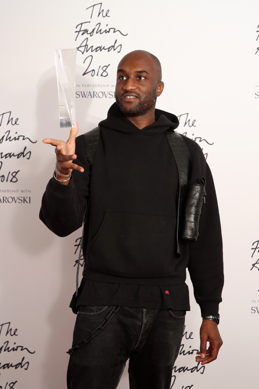 Virgil Abloh, fondateur d'Off-White : Urban Luxe Award