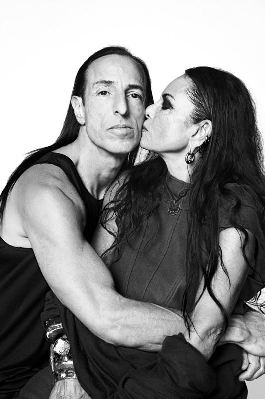 Rick Owens et Michele Lamy par Danielle Levitt