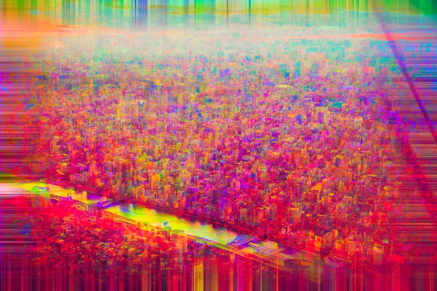 CITY 9 (75 x 50 cm)
