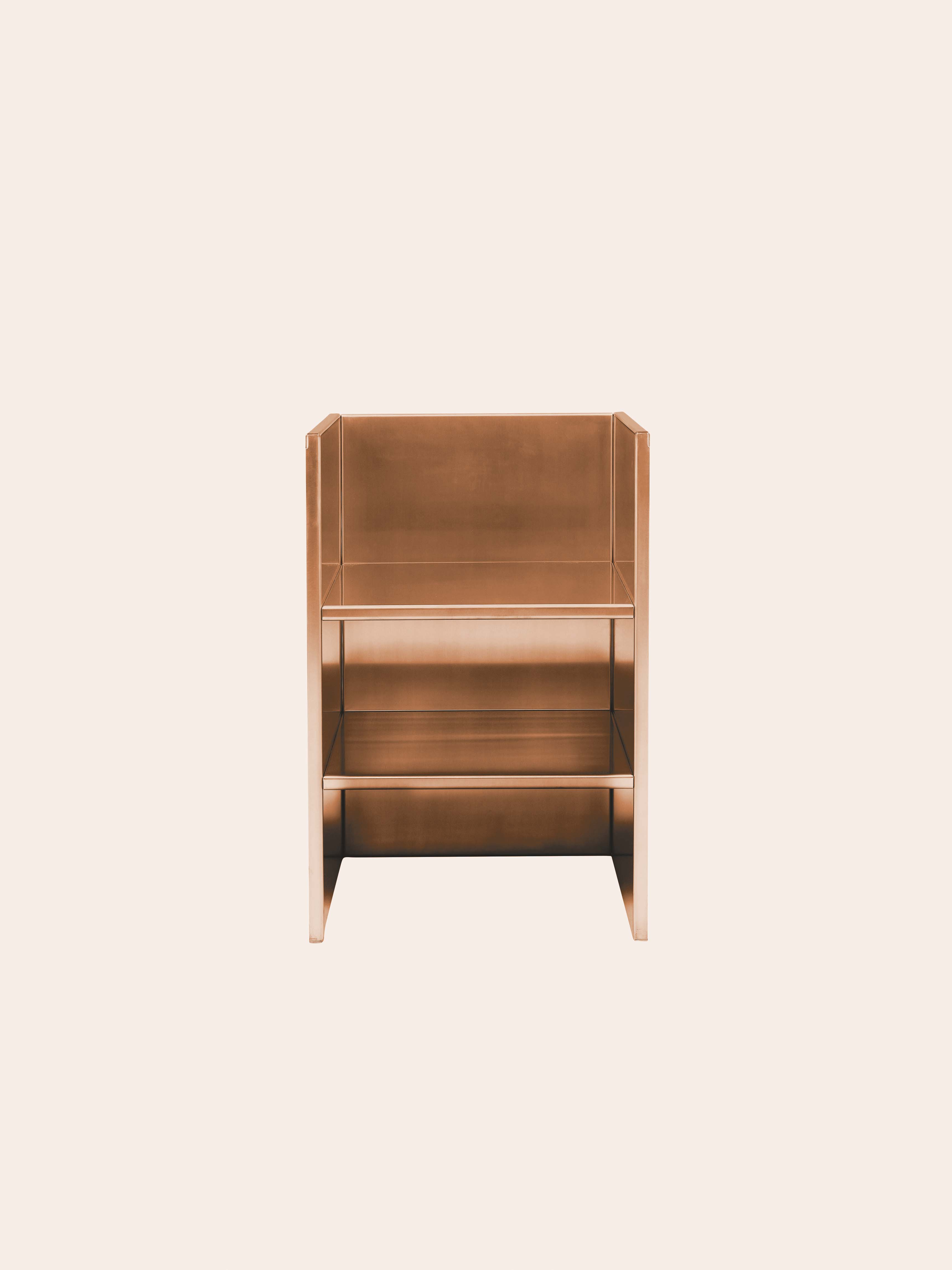 Armchair #47 by Donald Judd (Judd Furniture, courtesy of Galerie Mitterand)