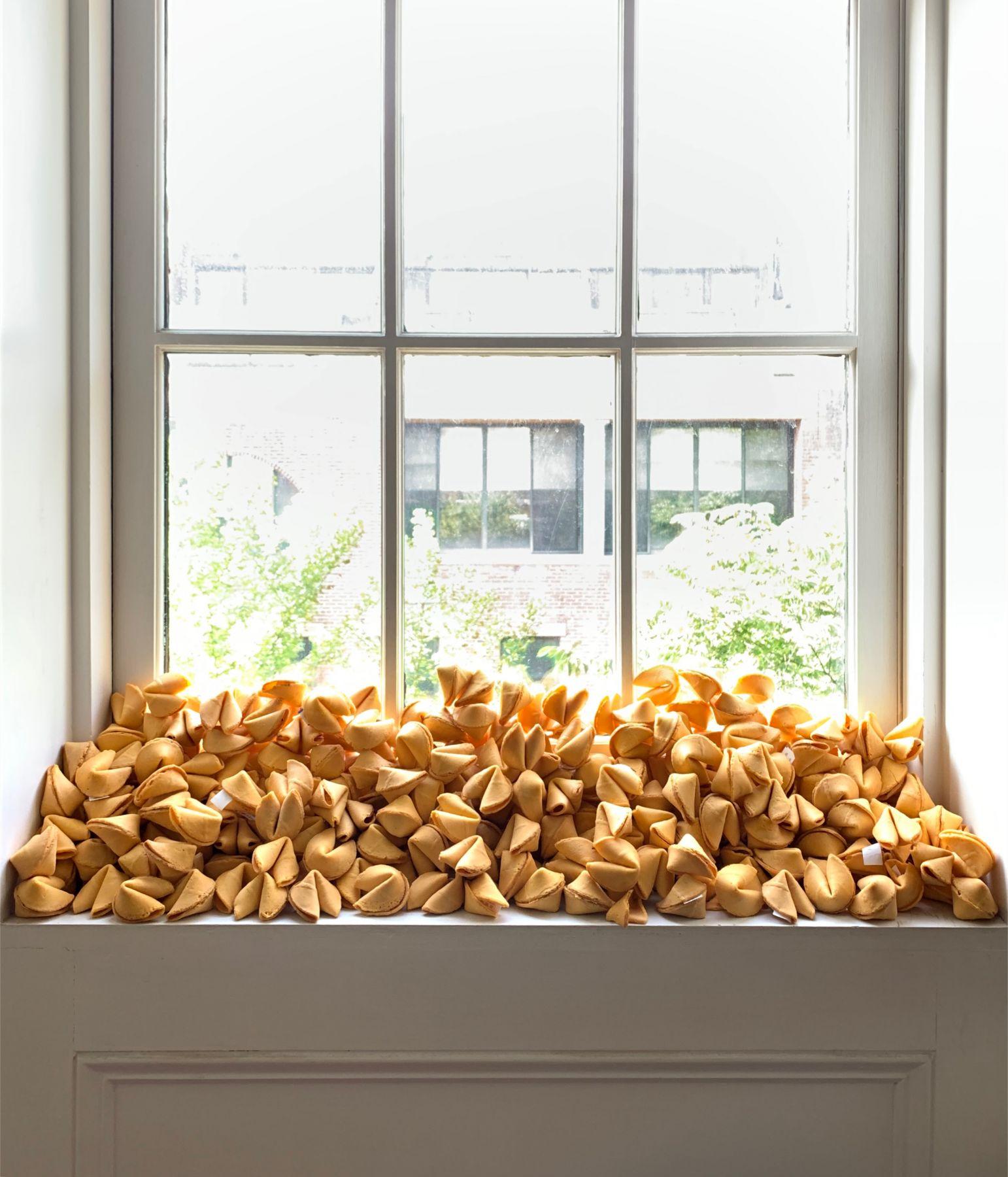 """Felix Gonzalez-Torres, """"Untitled (Fortune Cookie Corner"""" (1990-2020).Flavin Judd West Village, NY, USA"""