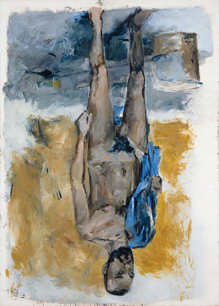 Fingermalerei-Akt-(Finger-Painting–Nude), 1973. Georg Baselitz