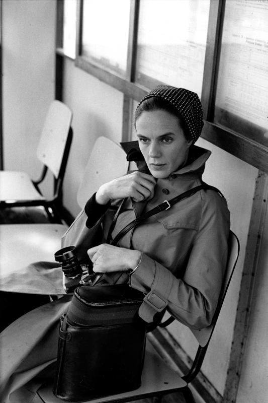 Martine Franck à la Fondation Henri Cartier-Bresson.
