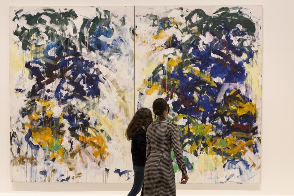 Vue de l'exposition à la Fondation Louis Vuitton.