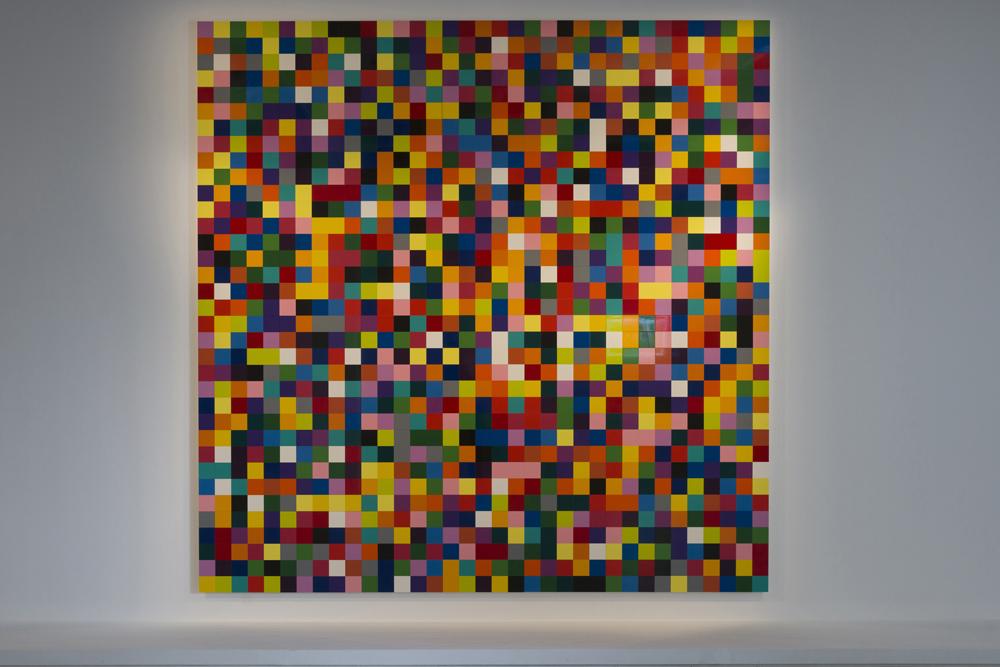 "Gerhard Richter ""4900 Farben"", 2007 Peinture émaillée sur Alu-dibond 680 x 680 cm"