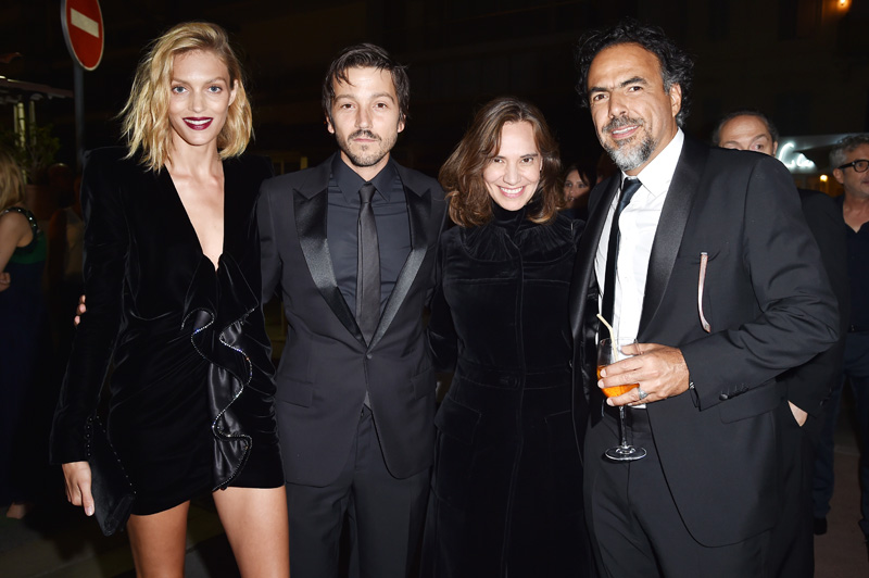 Anja Rubik, Diego Luna, Daniela Michel, Alejandro G. Iñárritu