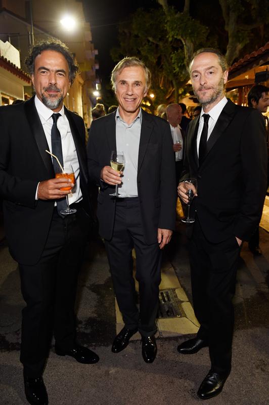 Alejandro G. Iñárritu, Christoph Waltz, Emmanuel Lubezki