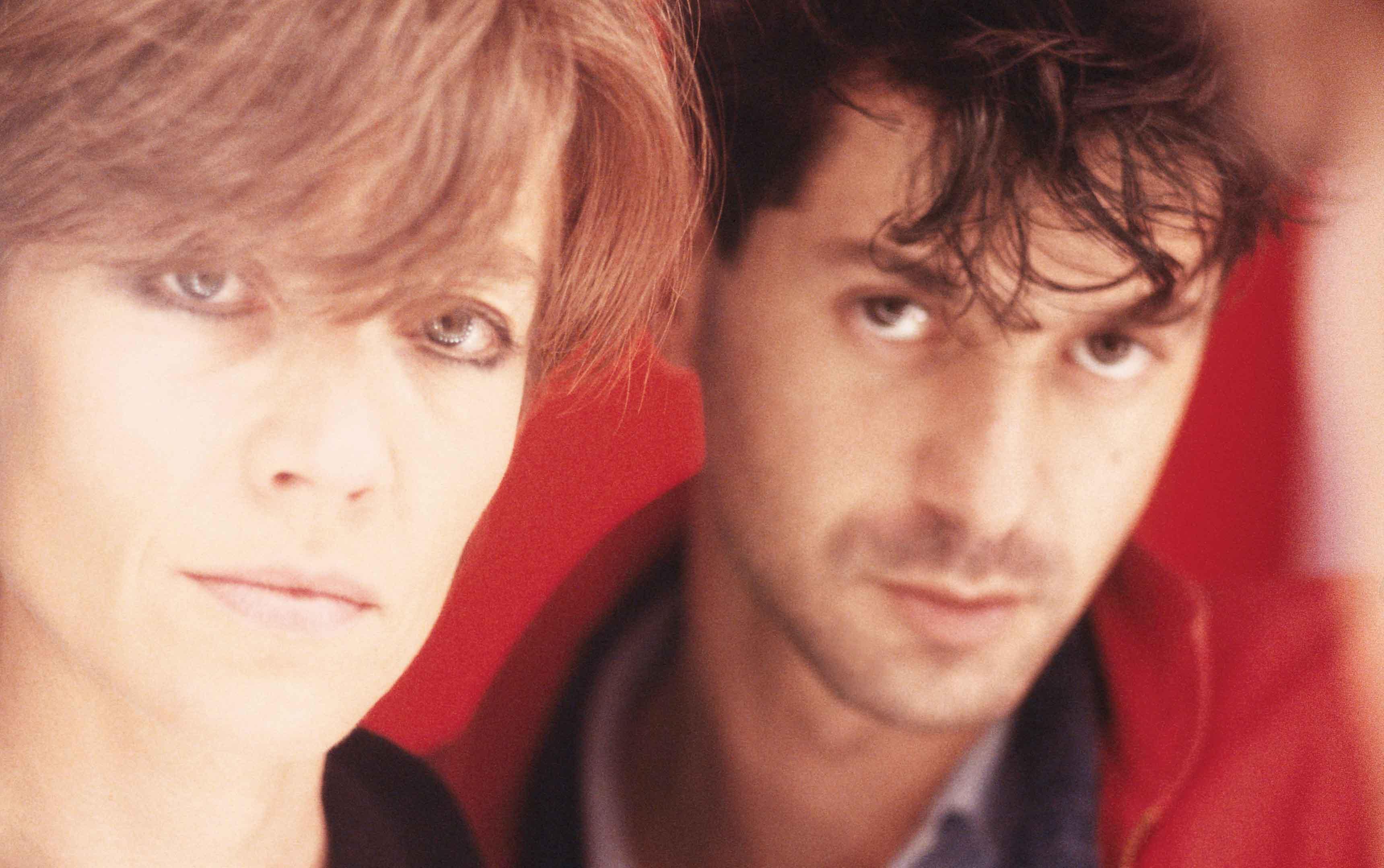 Françoise Hardy et Étienne Daho, 1985 ©Antoine Giacomoni-Mandrakimage