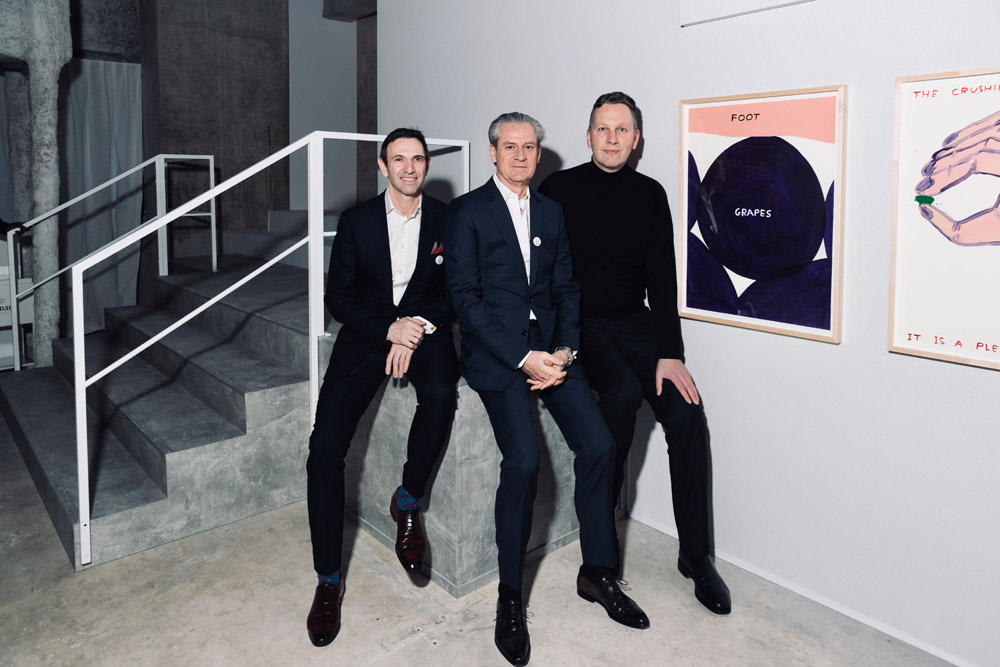 Frederic Panaiotis, Frederic Dufour et David Shrigley