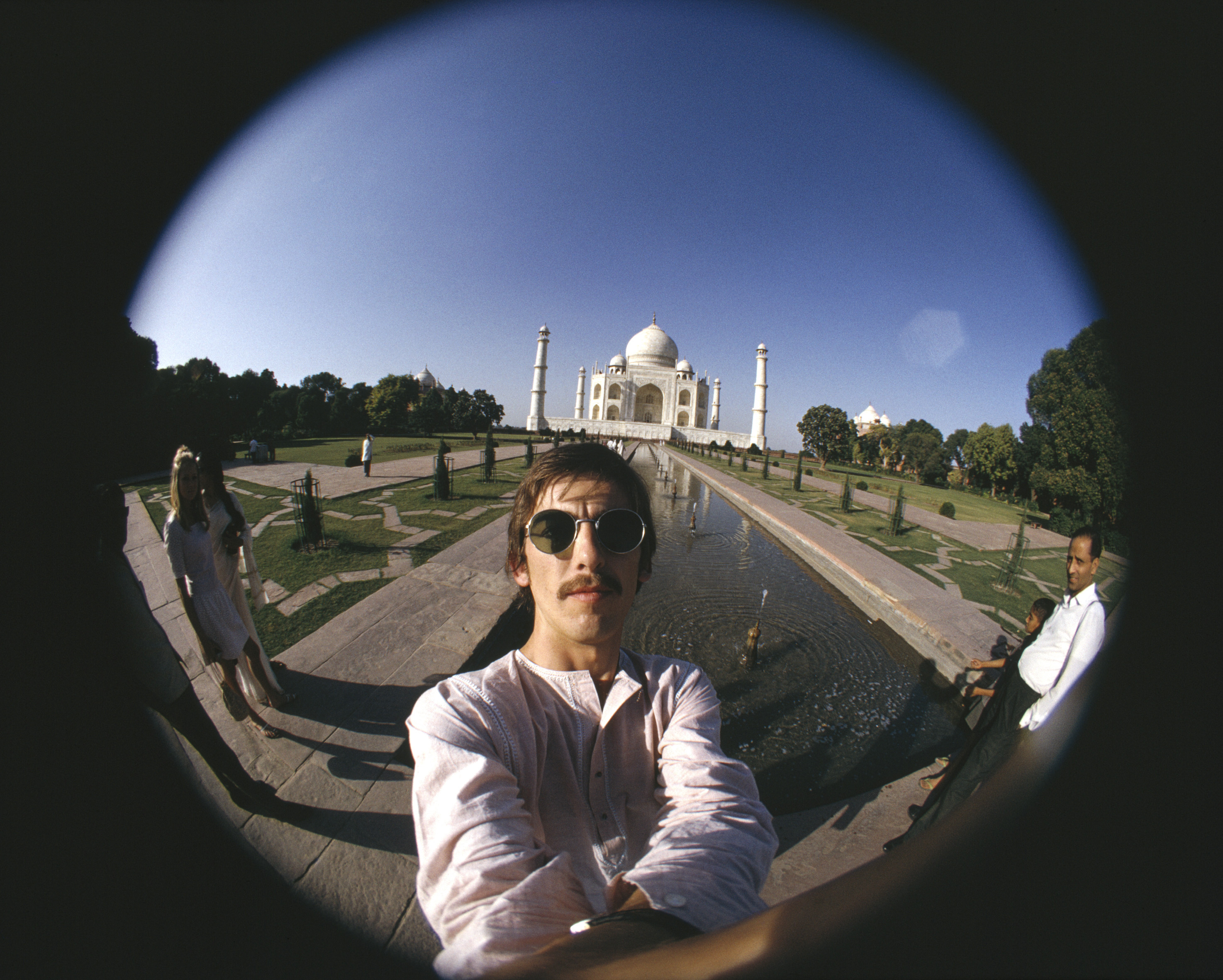 George Harrison Taj Mahal Self- Portrait 1966 © Harrison Family