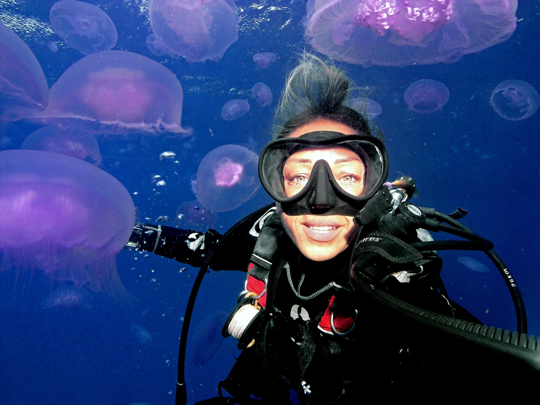 Jellyfish Selfie © Cinzia Osele Bismarck