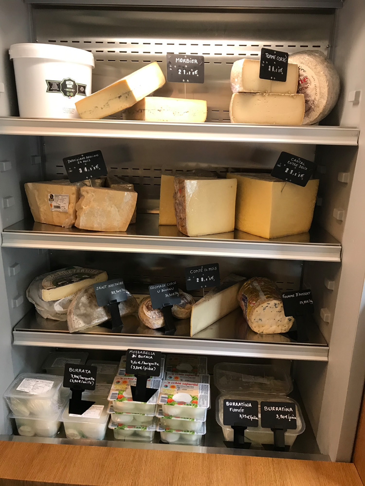 Epicerie : fromages