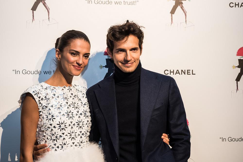 Gabrielle Caunesil et Riccaro Pozzoli