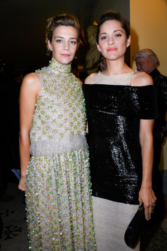 Celine Sallette et Marion Cotillard