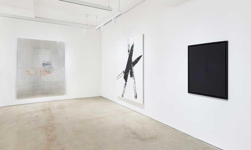 Vue sur l'installation de l'exposition Five Years at Nahmad Contemporary, New York, disponible jusqu'au 9 juin. Courtesy of Gallery Nohmad Contemporary.