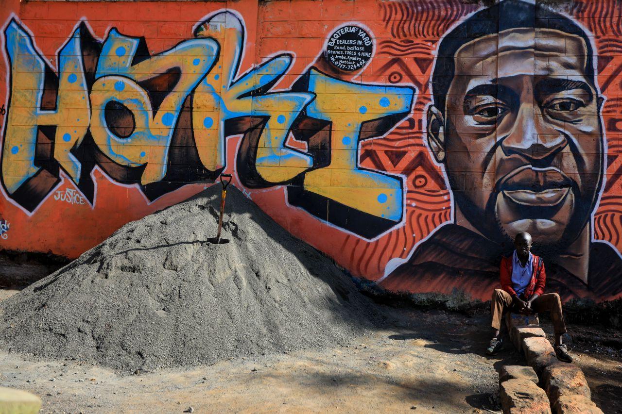 A mural in Nairobi, Kenya. Daniel Irungu/EPA-EFE/Shutterstock