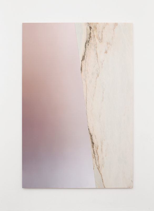 Pieter Vermeersch Untitled, 2016 Huile sur marbre / Oil on marble 240 x 160 cm / 94 1/2 x 63 inches Courtesy of the Artist & Galerie Perrotin