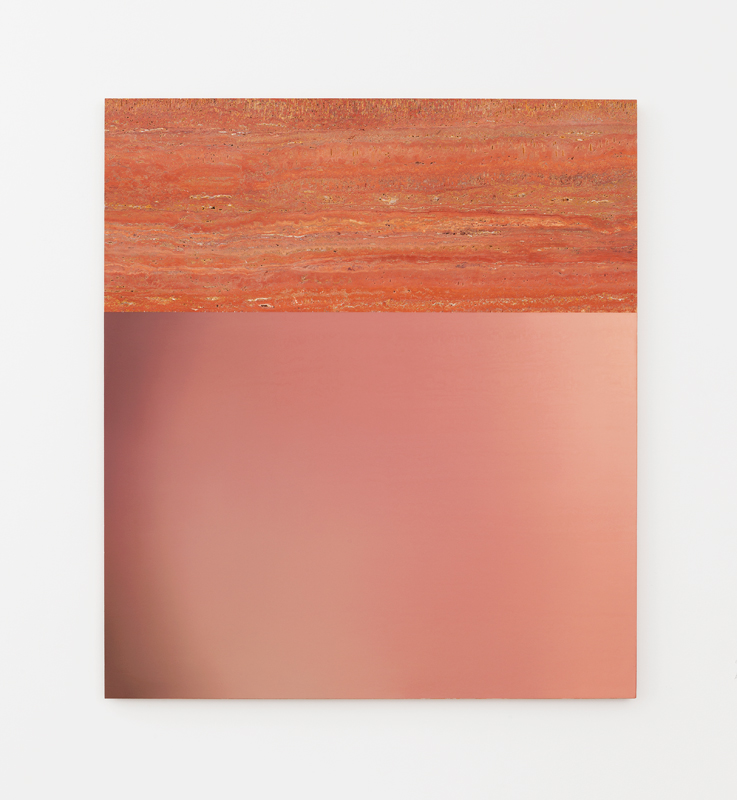 Pieter Vermeersch Untitled, 2016 Huile sur marbre / Oil on marble 125 x 111 cm / 49 3/16 x 43 11/16 inches Courtesy of the Artist & Galerie Perrotin