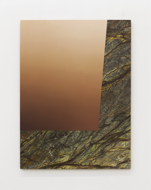 Pieter Vermeersch Untitled, 2016 Huile sur marbre / Oil on marble 149,1 x 110,1 cm / 58 11/16 x 43 3/8 inches Courtesy of the Artist & Galerie Perrotin