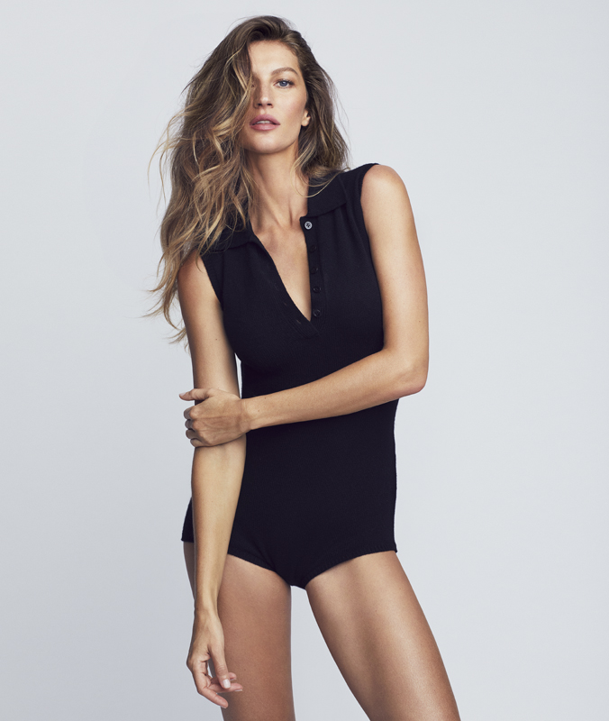 Gisele Bündchen est mise en beauté par DIOR avec Capture Totale C.E.L.L. Energy Sérum et Capture Totale C.E.L.L. Energy Crème fermeté et correction rides. Photo : Nino Muñoz pour Christian Dior Parfums.