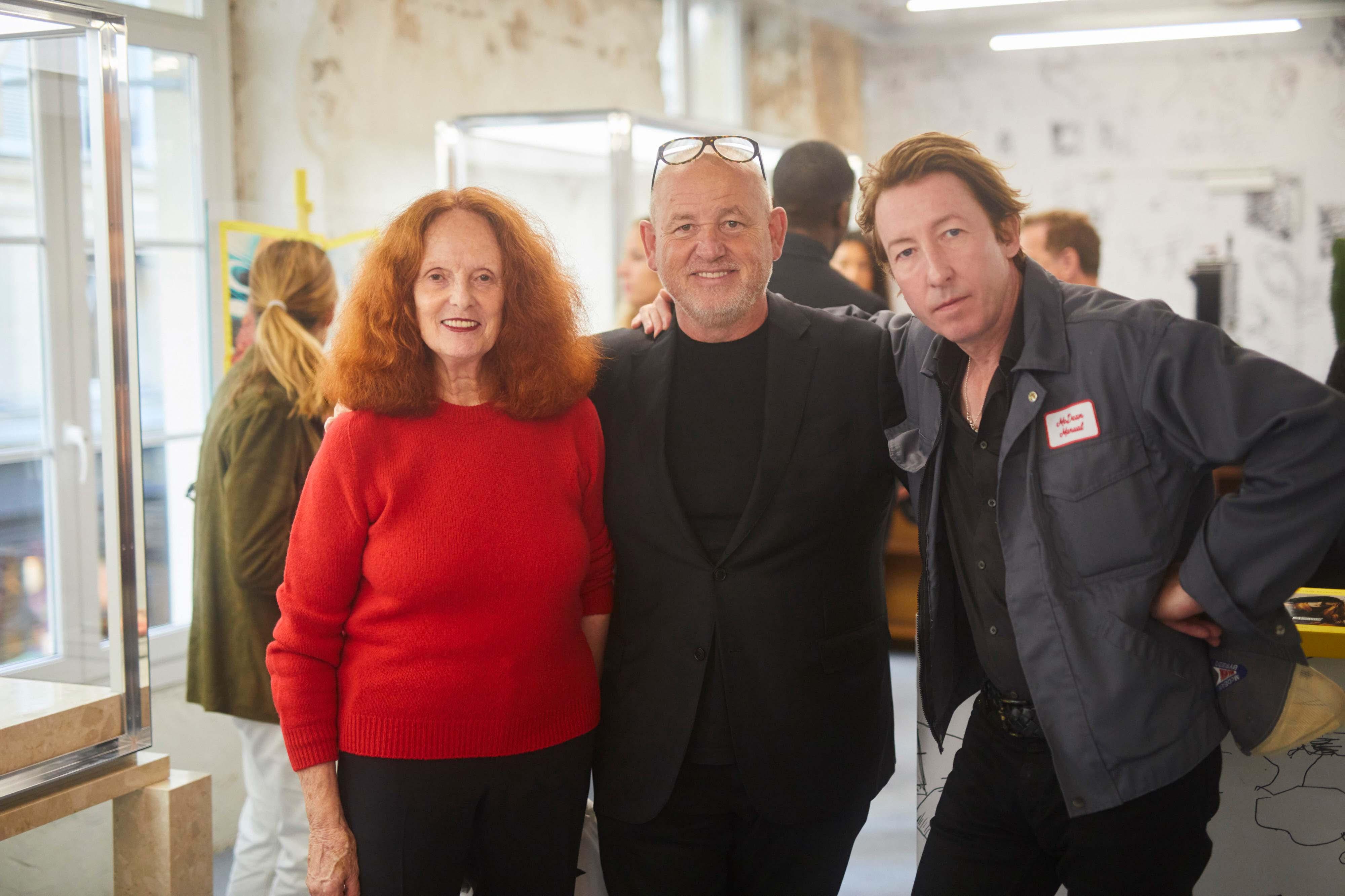 Grace Coddington, Fabien Baron et Craig McDean