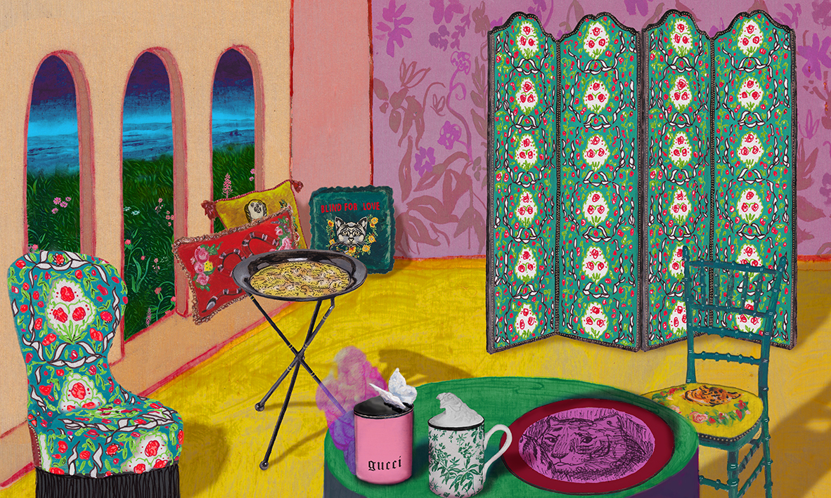 What Does Gucci Furniture Look Like?