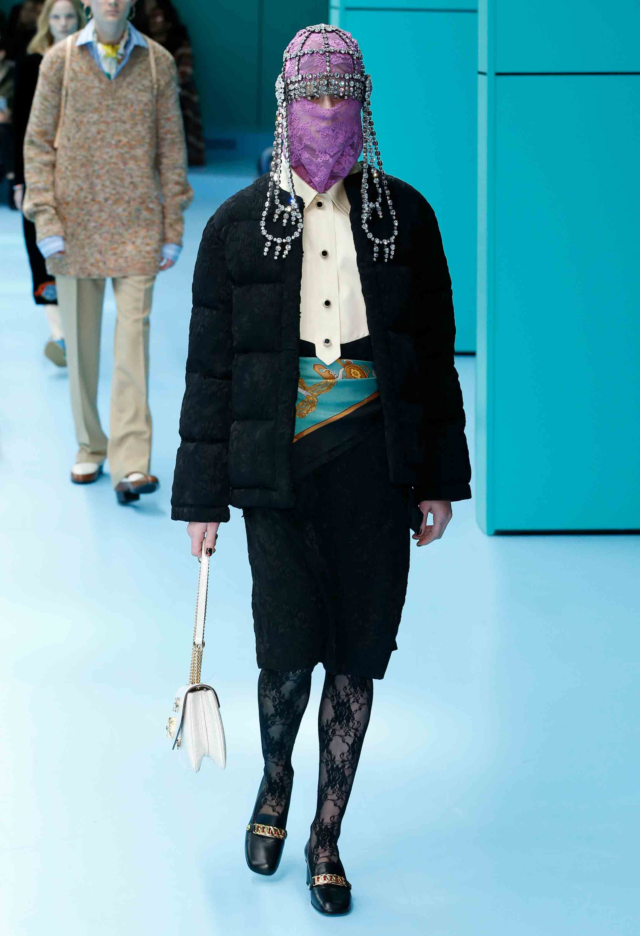 Gucci fall-winter 2018-2019 fashion show