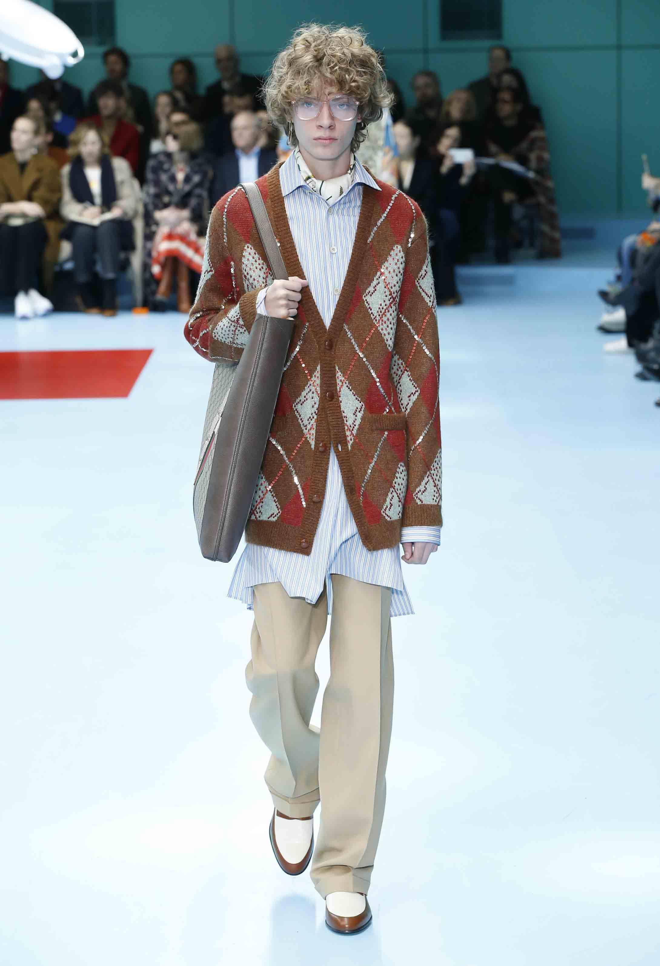 Gucci fall winter 2018 2019 fashion show Mla winter style fashion set