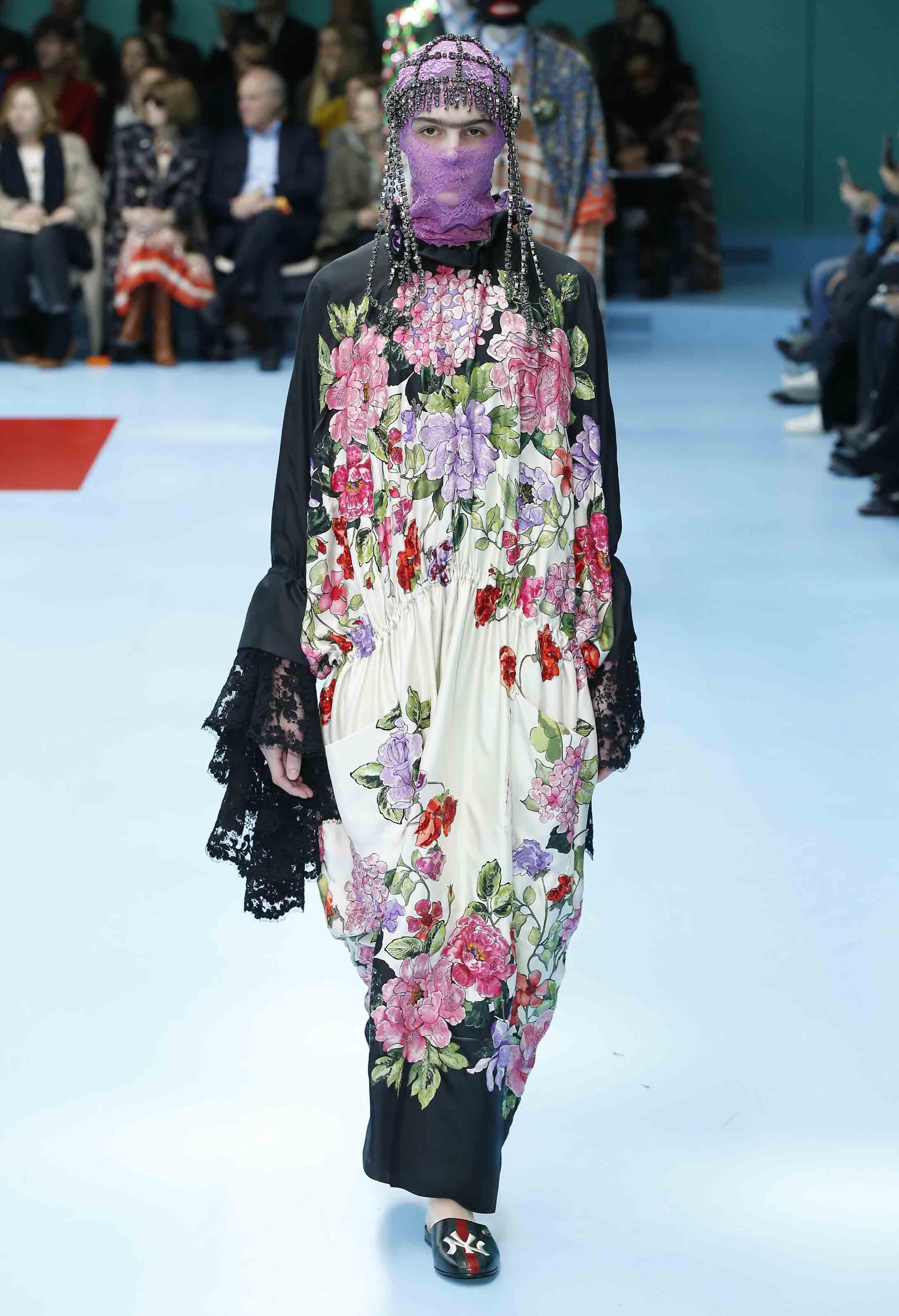 Gucci fall-winter 2018-2019 fashion show
