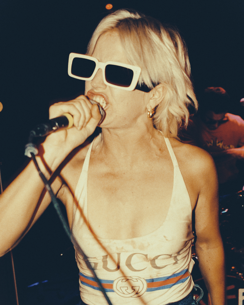 Amyl and the Sniffers, Courtesy of Gucci.
