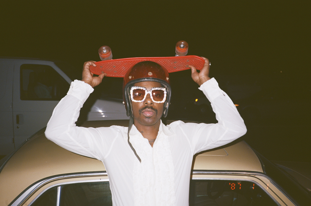 Curtis Harding, Courtesy of Gucci.