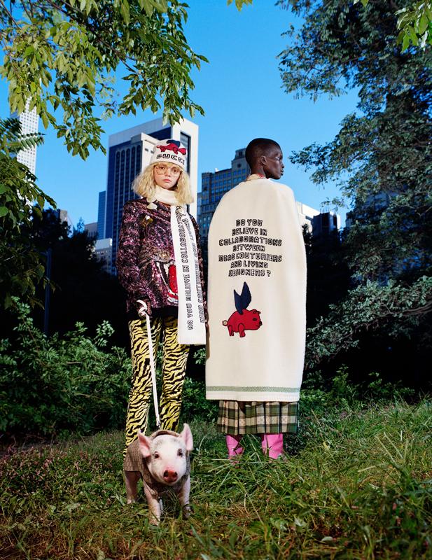 Photo : Frank Lebon Courtesy of Gucci