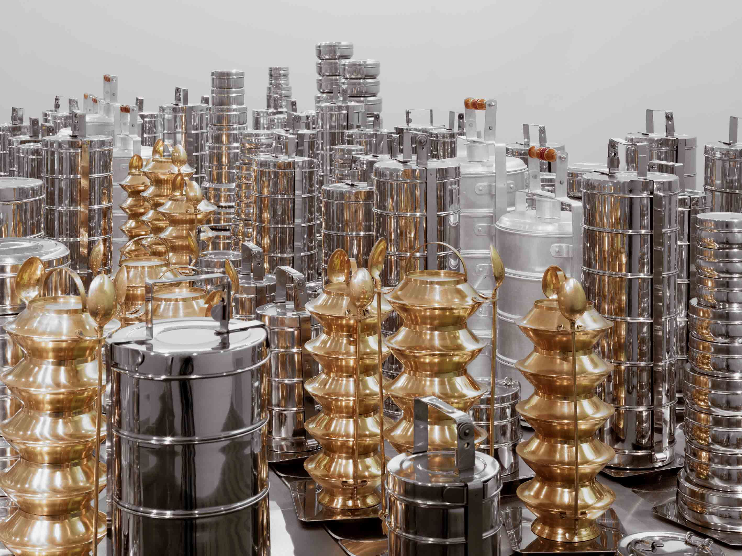 Subodh Gupta Faith Matters, 2007-2010 Courtesy of the artist and Hauser & Wirth Stefan Altenburger Photography Zürich