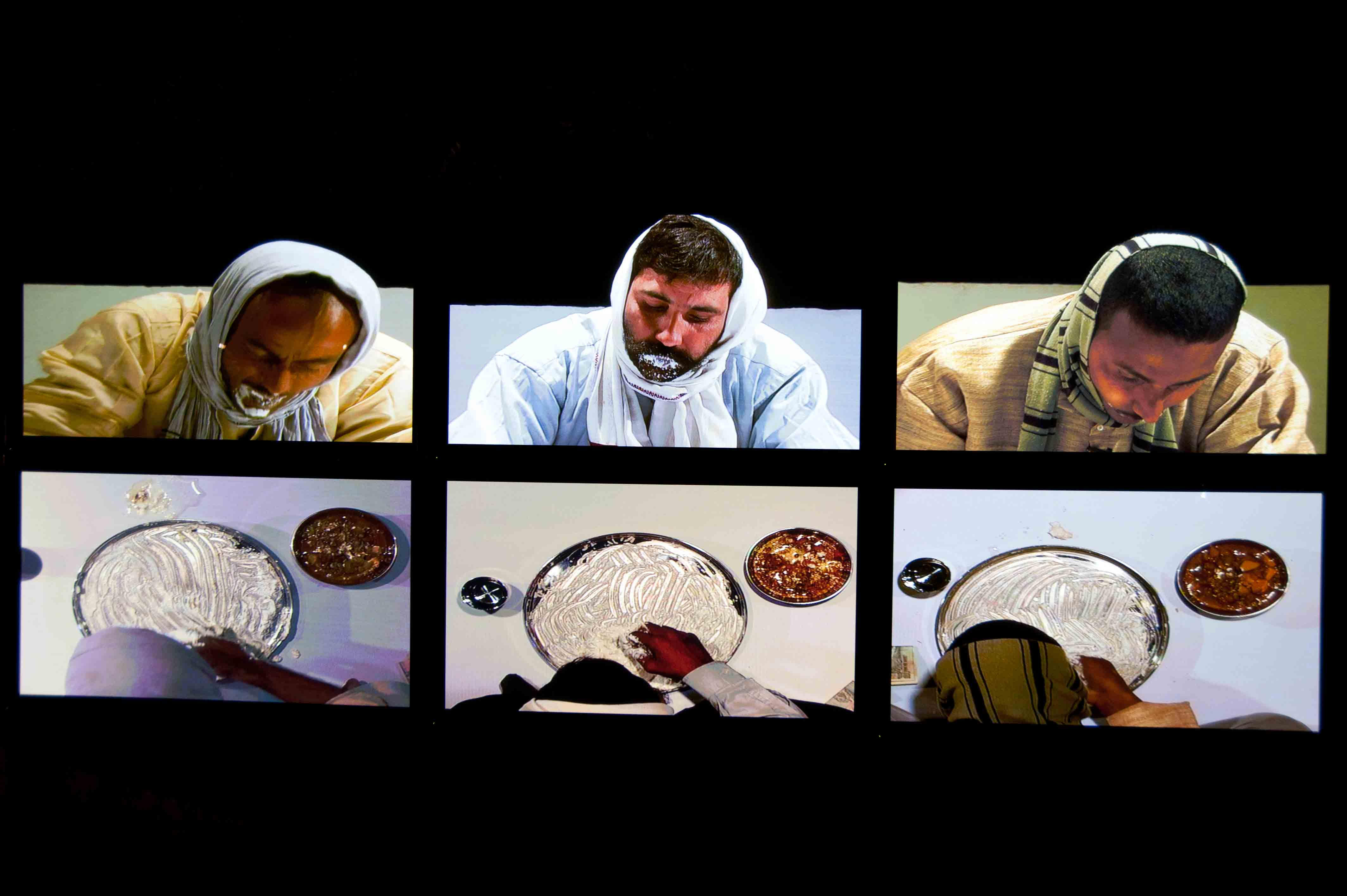 Subodh Gupta Spirit Eaters, 2012 Courtesy of the artist