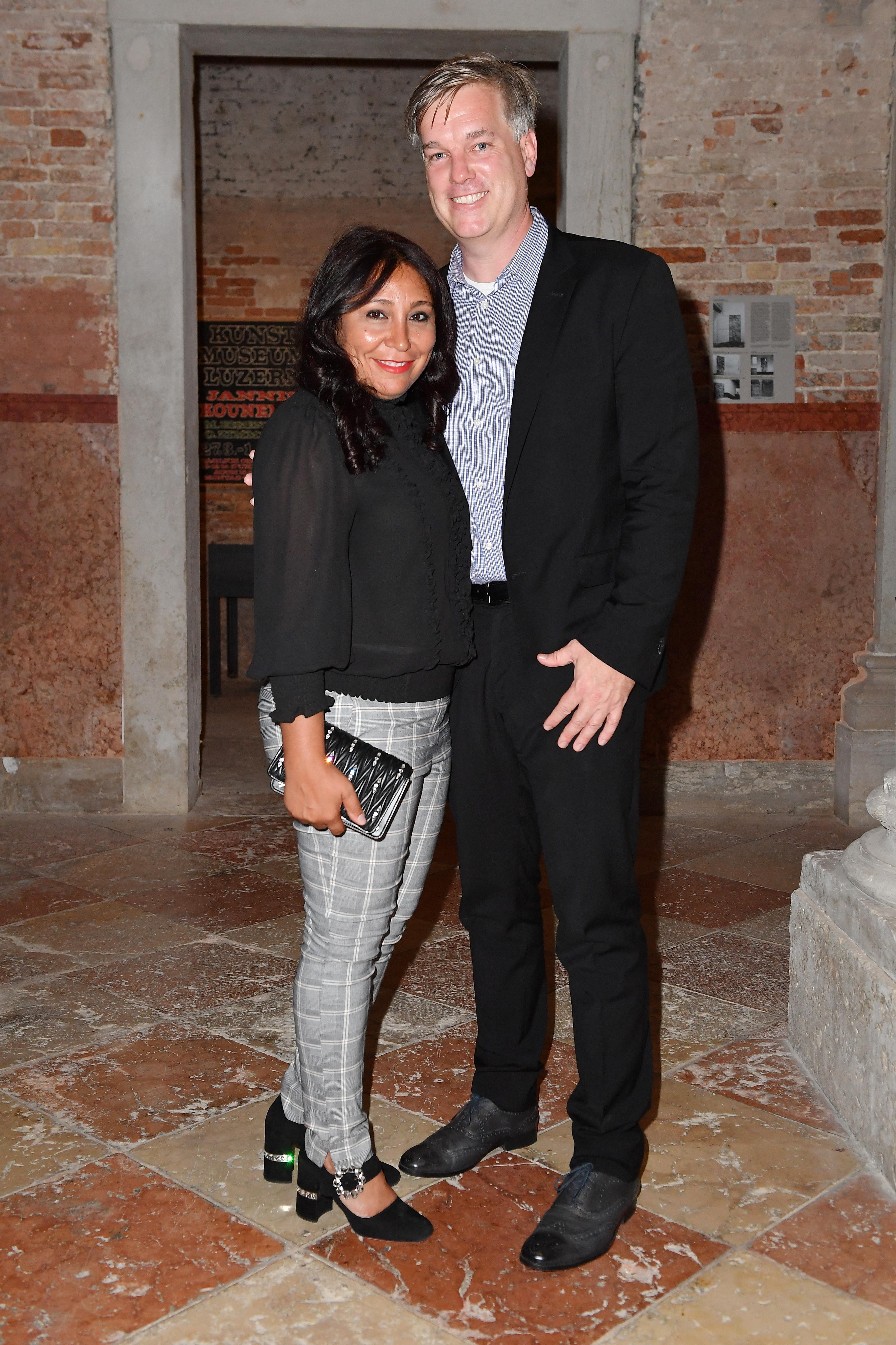 Haifaa Al Mansour et Brad Niemann