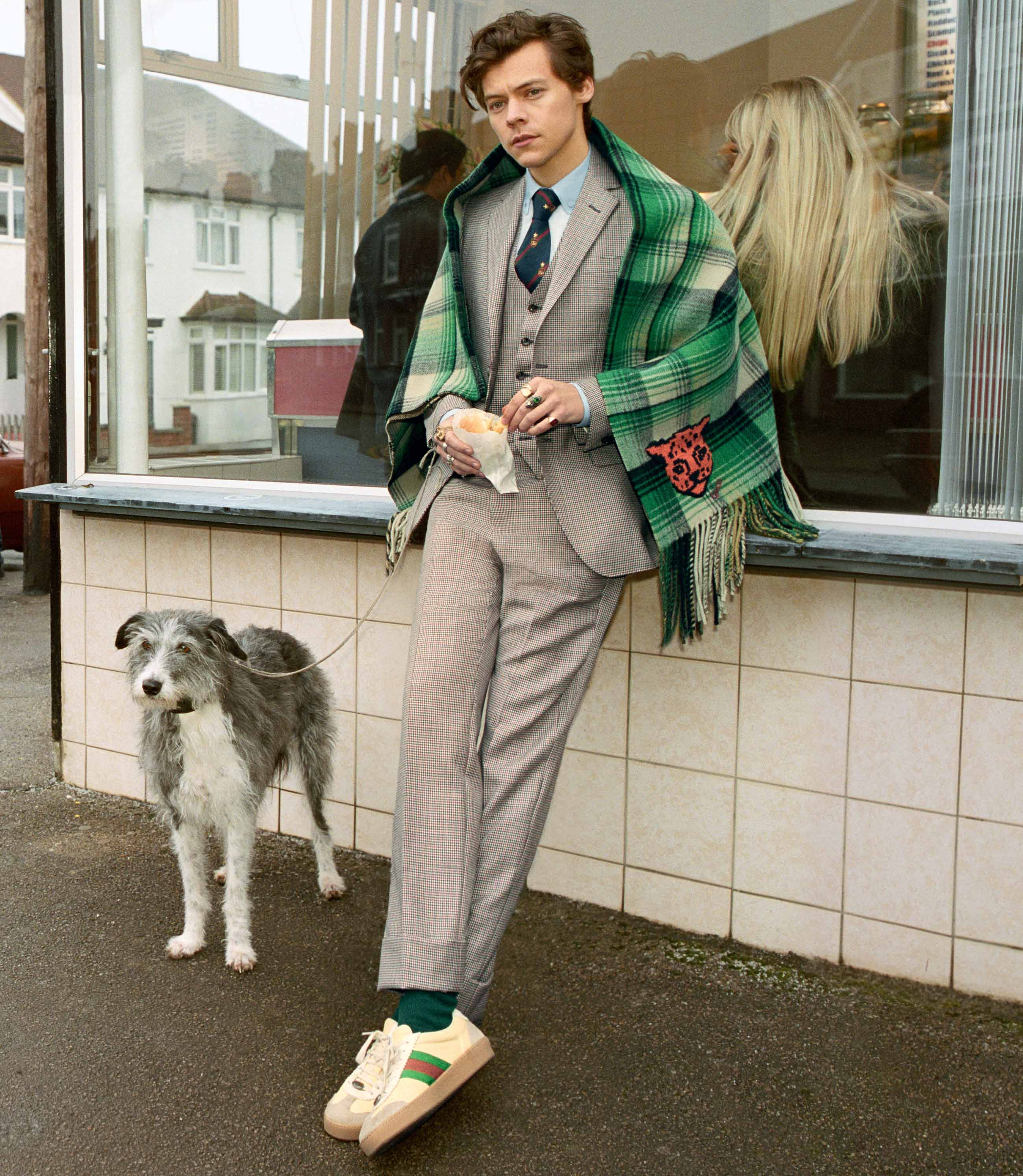 Harry Styles - Gucci Men's Tailoring automne-hiver 2018-2019 - Photo : Glen Luchford