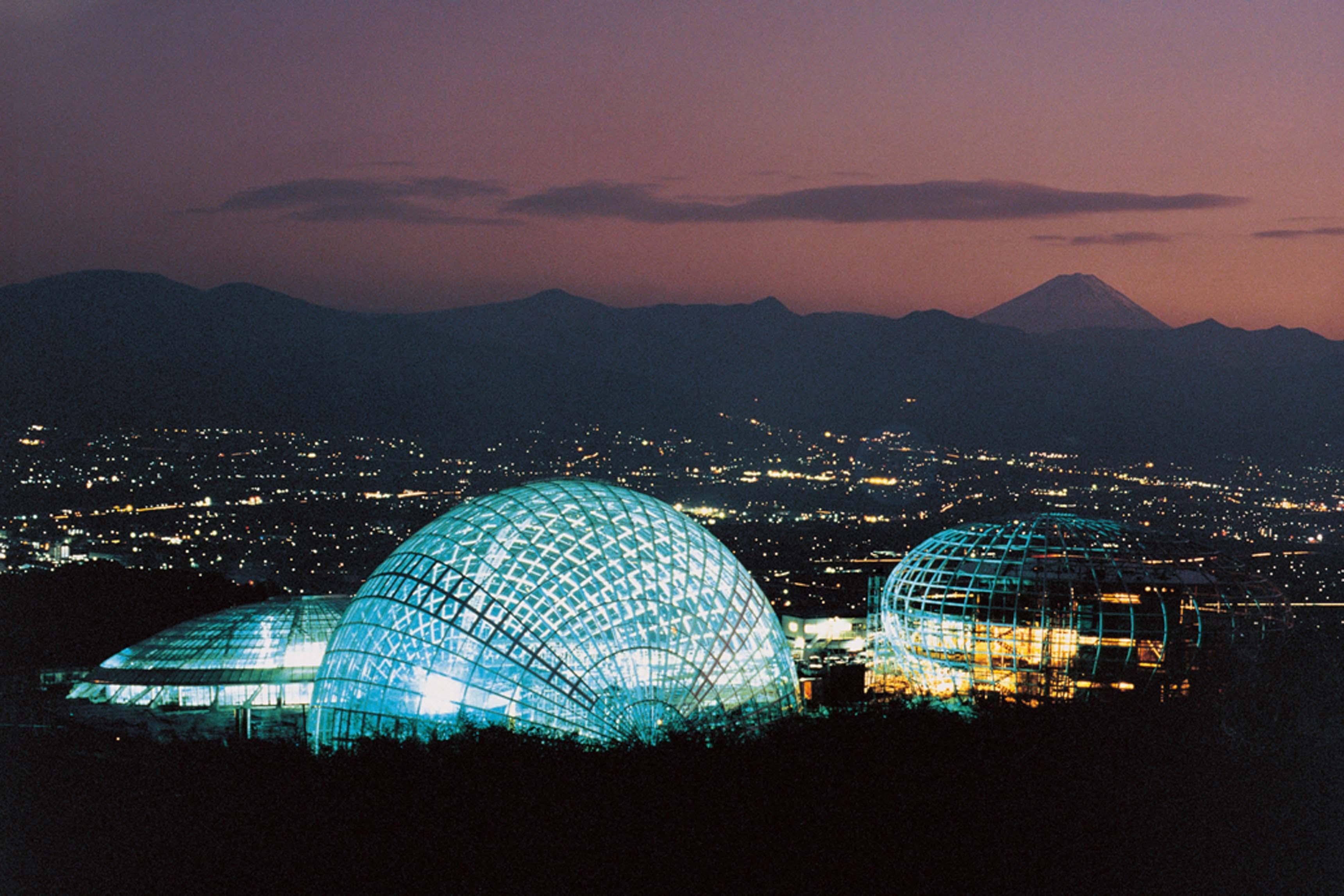 Itsuko Hasegawa, Jardin et musée du Fruit, Yamanashi, 1996
