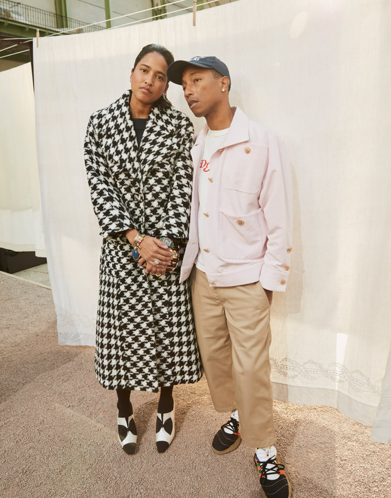 Helen et Pharrell Williams