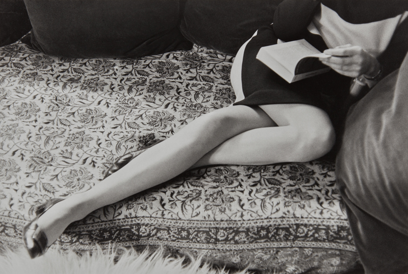 "Henri Cartier-Bresson ""Martine Franck, Paris"" 1967 Gelatin silver print, printed later. 9 3/8 x 14 in. (23.8 x 35.6 cm)"