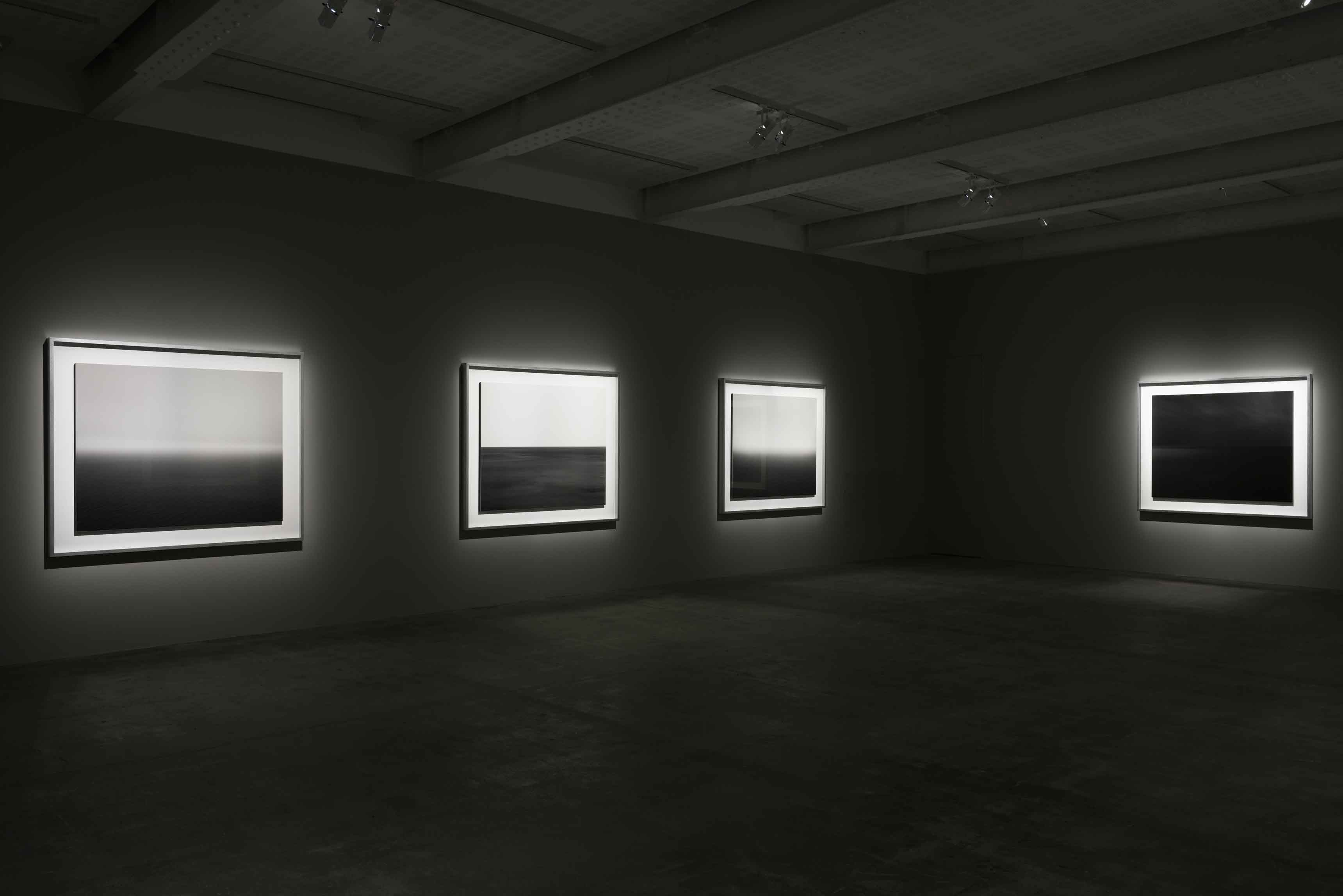 Hiroshi Sugimoto, Surface Tension, vue d'exposition